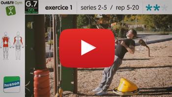 Vidéo d'exercices Out&Fit Gym JFI-0101